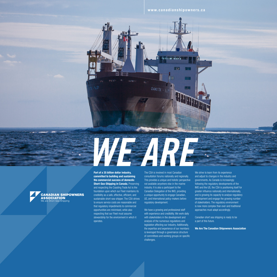 Canadian Shipping Association -Ad-1