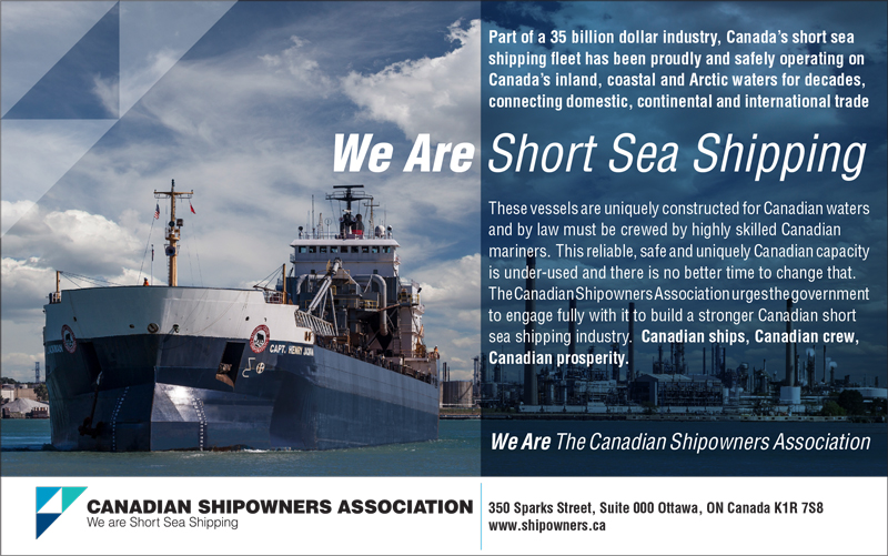 Canadian Shipping Association -we-are-short-sea-shipping ad
