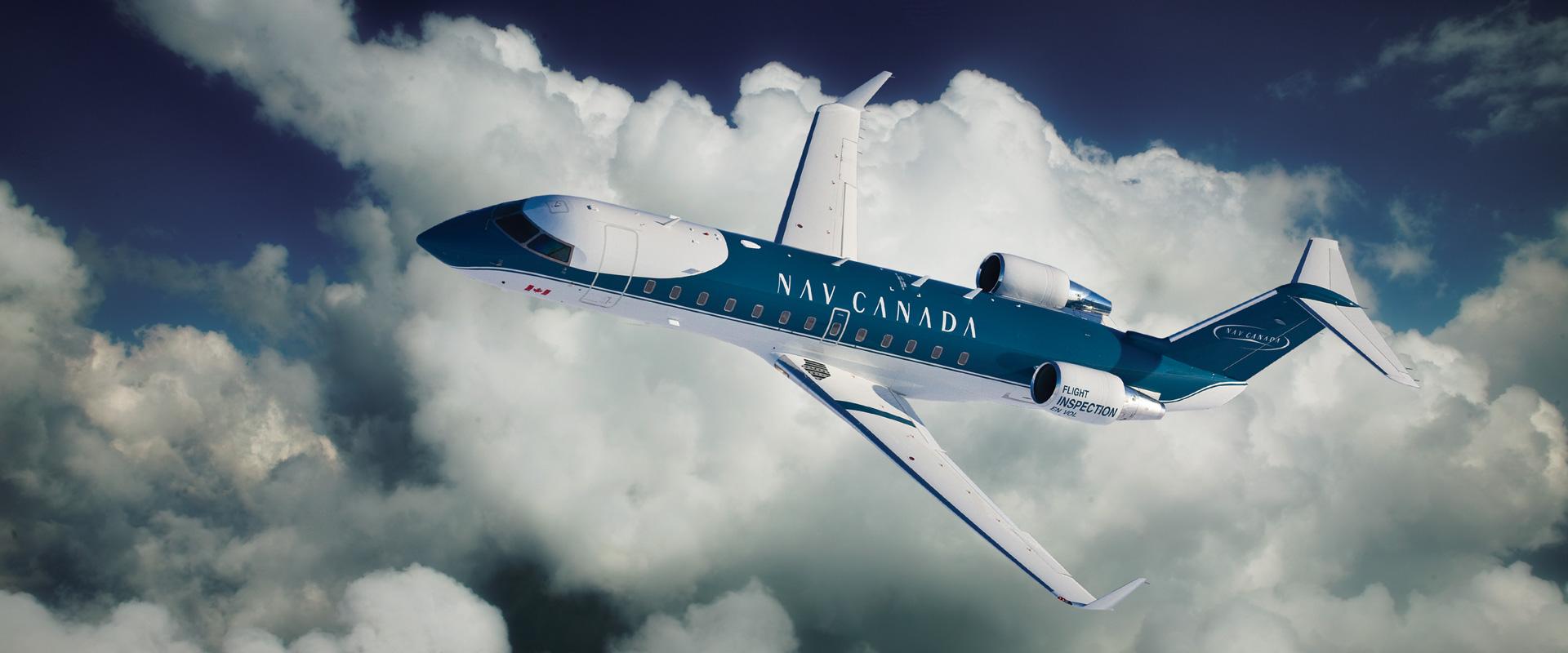 NAV_CANADA plane flying