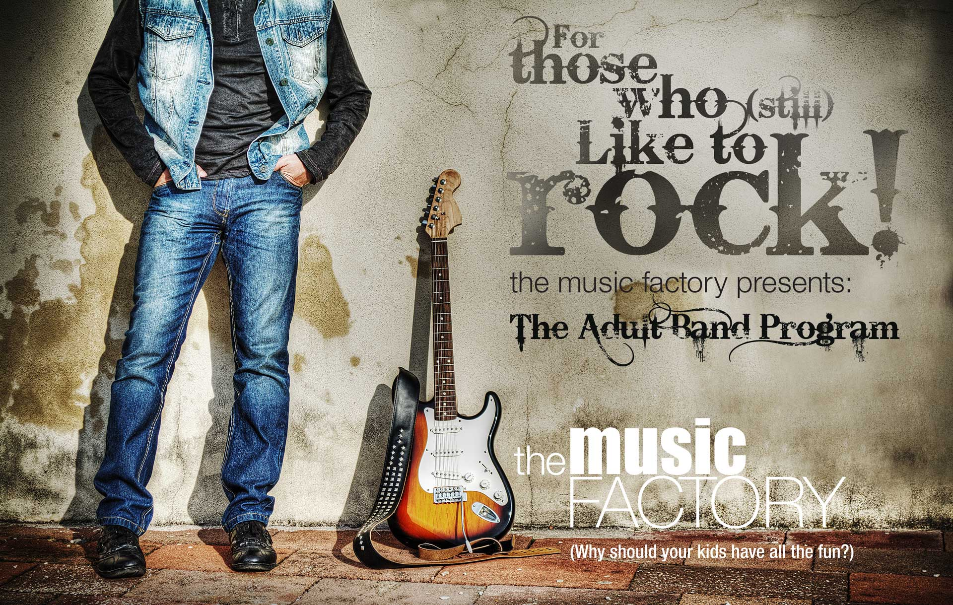 The Music Factory-Adult-program